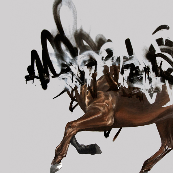 """The Raid"" by Shai Dahan.  50 x 50cm Giclee.  Ed of 28 S/N.  1100 KR ($133)"