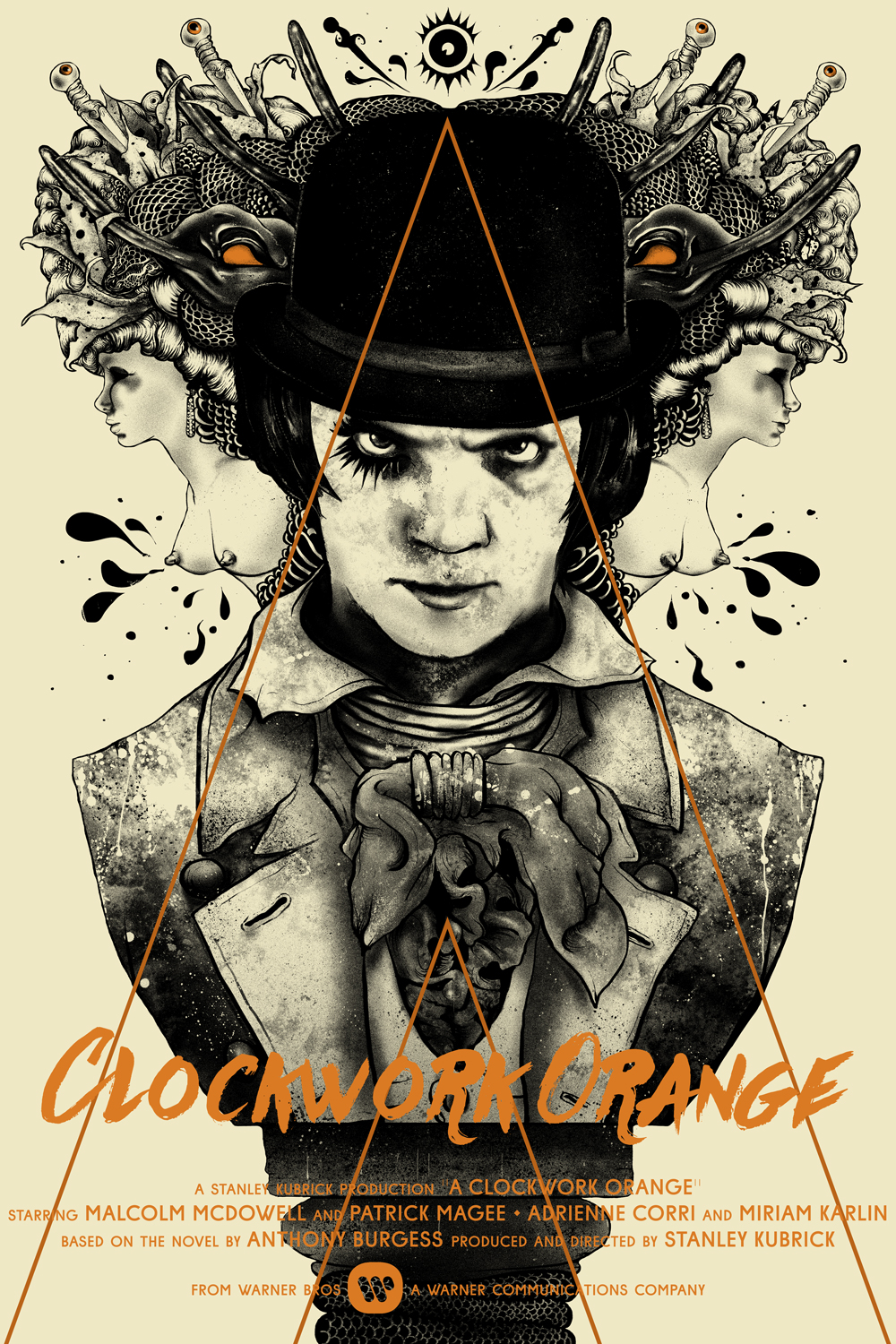 a clockwork orange posters a clockwork orange by nikita kaun 24 x 36 4