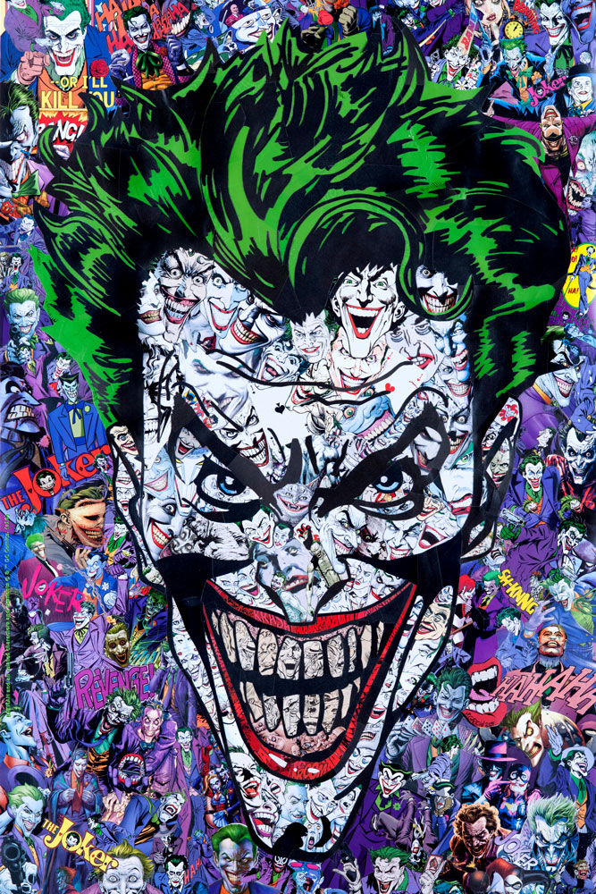 """The Joker"" by M. Garcin.  24"" x 36"" Giclee.  Ed of 150 N.  €50 ($57)"
