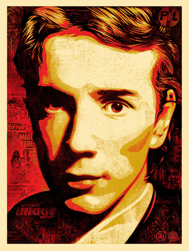 """A Product of Your Society"" by Shepard Fairey.  18"" x 24"" Screenprint.  Ed of 500 S/N.  $80"