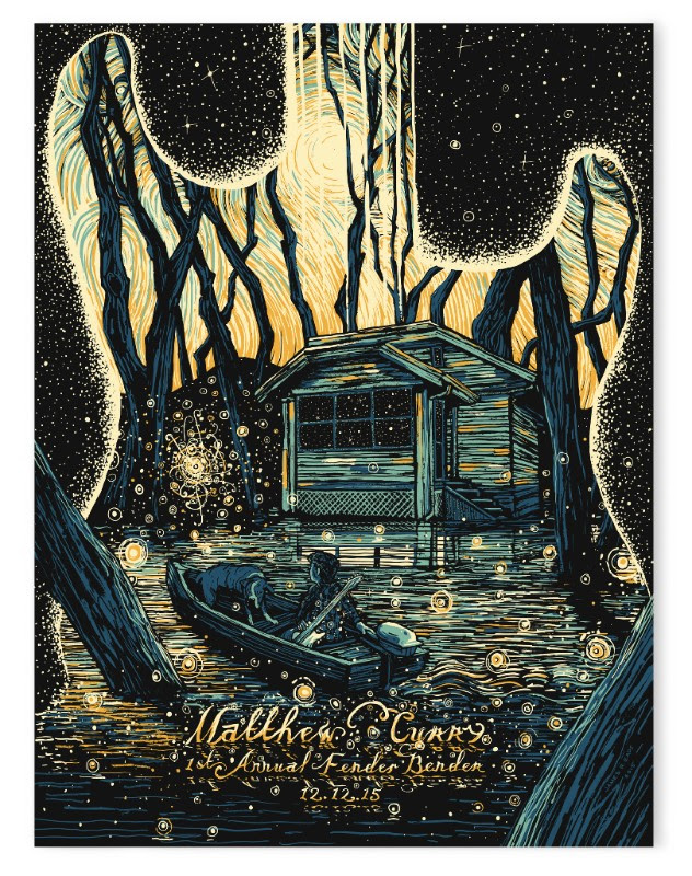 """Coming Home"" by James R Eads.  18"" x 24"" 4-color Screenprint.  AP edition of 25 S/N.  $40"