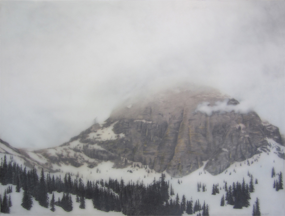 """Rocky Mtn. Nat'l Prk"" by Brooks Salzwedel.  8""  x10"" Giclee.  Timed edition.  $30 unframed : $130 framed"