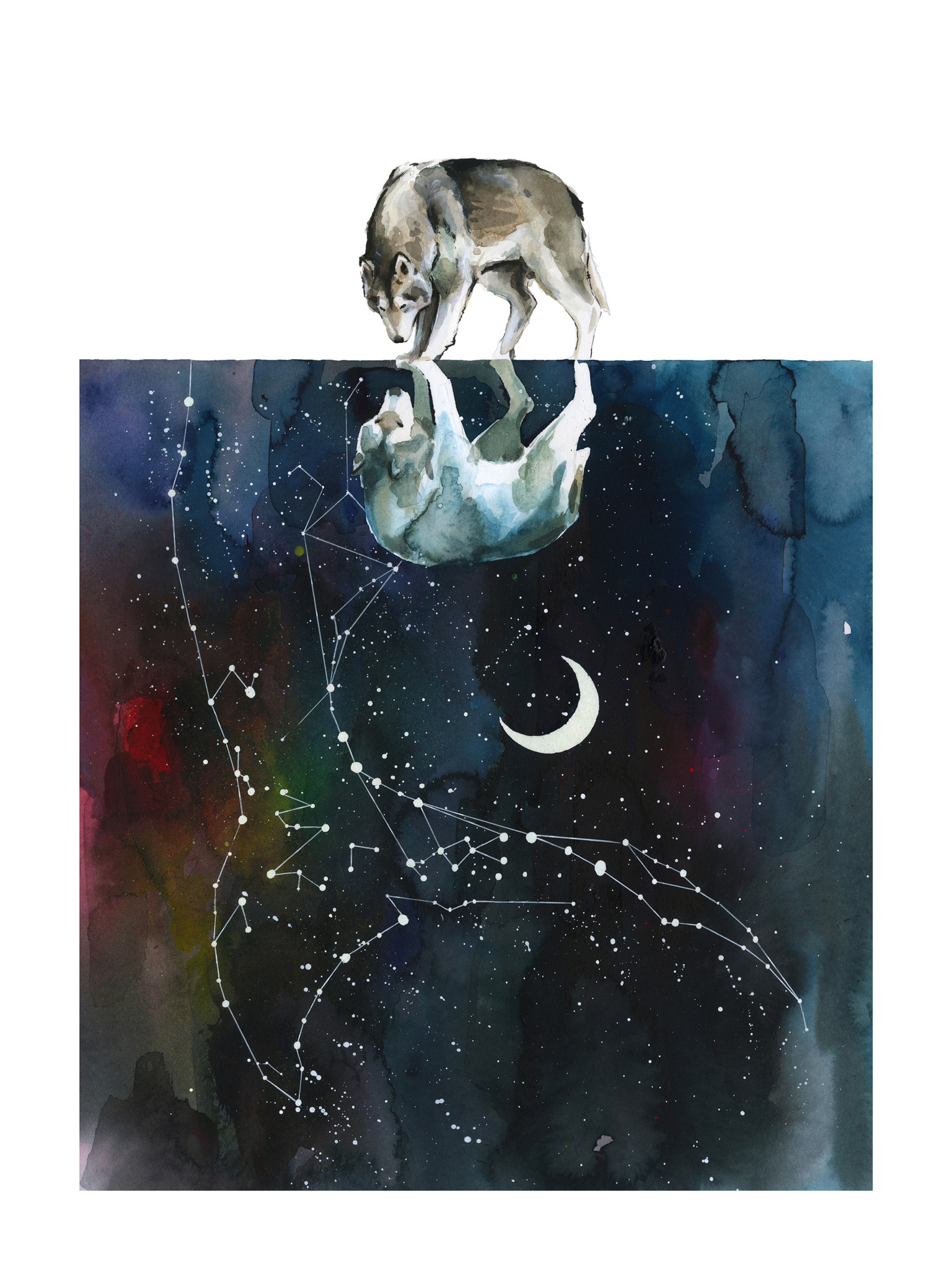 """""""The Great Soul"""" by Lora Zombie.  18"""" x 24"""" Giclee.  Ed of 125 S/N.  $99"""