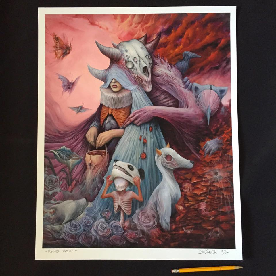 """""""Mother Nature"""" by Dave Correia.  16"""" x 20"""" Giclee.  Ed of 200 S/N."""