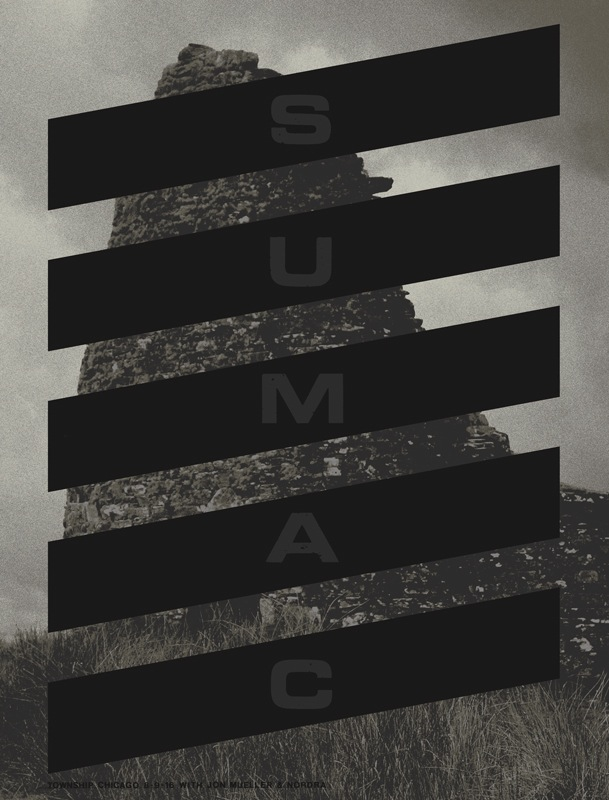 """Sumac- Chicago, IL 2016"" by Crosshair.  18"" x 24"" 4-color Screenprint.  Ed of 90 S/N.  $25"