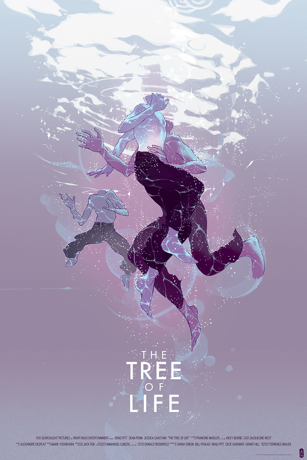 "The Tree of Life by Tomer Hanuka. 24""x36"" screen print. Hand numbered. Edition of 225. Printed by D&L Screenprinting. $45"