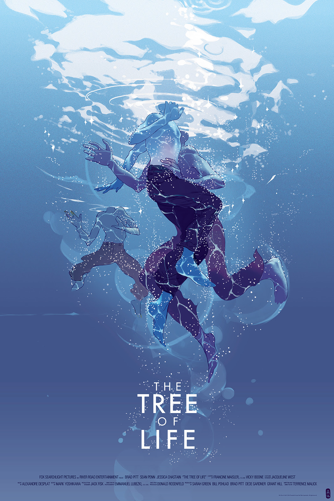 "The Tree of Life (Variant) by Tomer Hanuka. 24""x36"" screen print. Hand numbered. Edition of 125. Printed by D&L Screenprinting. $65"