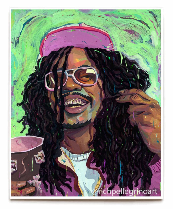 """Lil Jon"" by Rich Pellegrino.  16"" x 20"" Giclee.  Ed of 40 S/N.  $40"