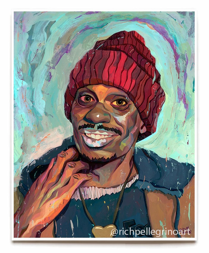 """Tyrone Biggums"" by Rich Pellegrino.  16"" x 20"" Giclee.  Ed of 40 S/N.  $40"