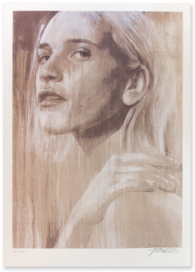 """Independence"" by Rone.  500 x 700mm 5-color Screenprint.  Ed of 200 S/N.  $220"
