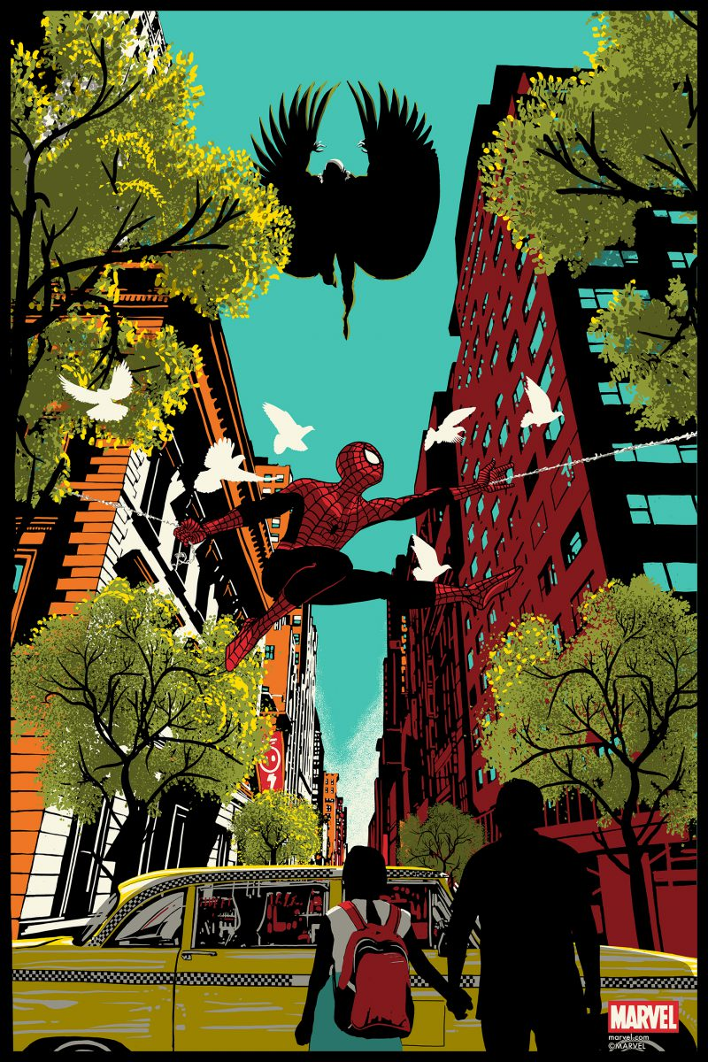 raid-spider-man-24x36