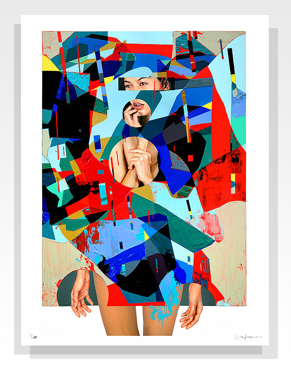 """Mirrors"" by Erik Jones.  18"" x 24"" Giclee.  Timed edition S/N.  $50"