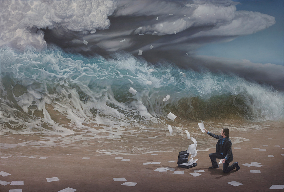 """The Time Has Come"" by Joel Rea.  66 x 46.5cm Giclee.  Ed of 100 S/N.  $280 Aust"