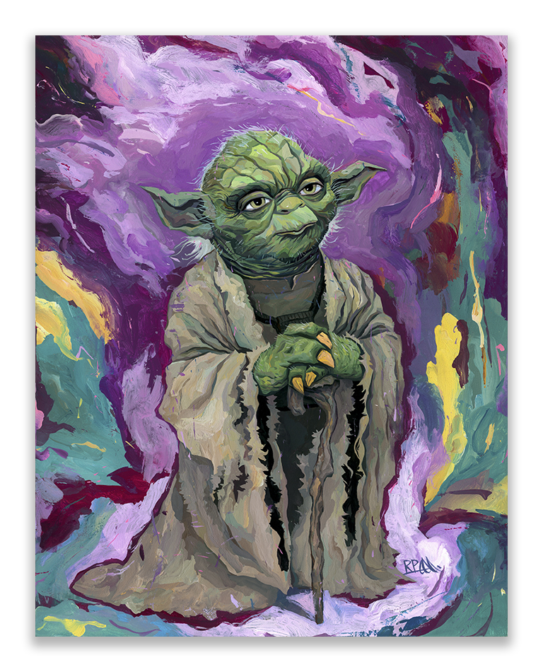 """Old Wise One"" by Rich Pellegrino.  11"" x 14"" Giclee.  Ed of 200.  $19.95"