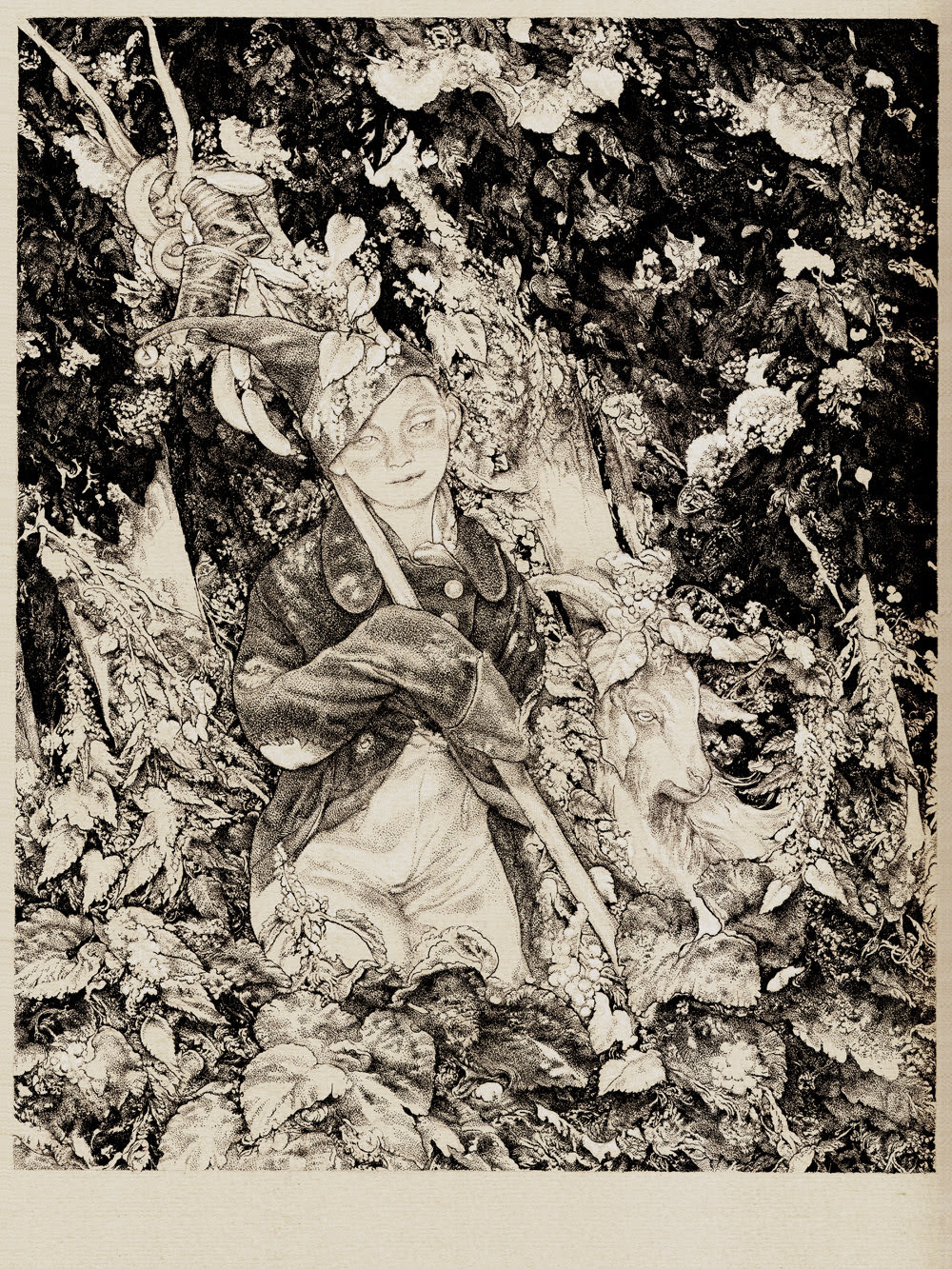 """Petrushka"" by Vania Zouravliov.  12"" x 16"" Giclee.  Ed of 65 S/N.  $55"