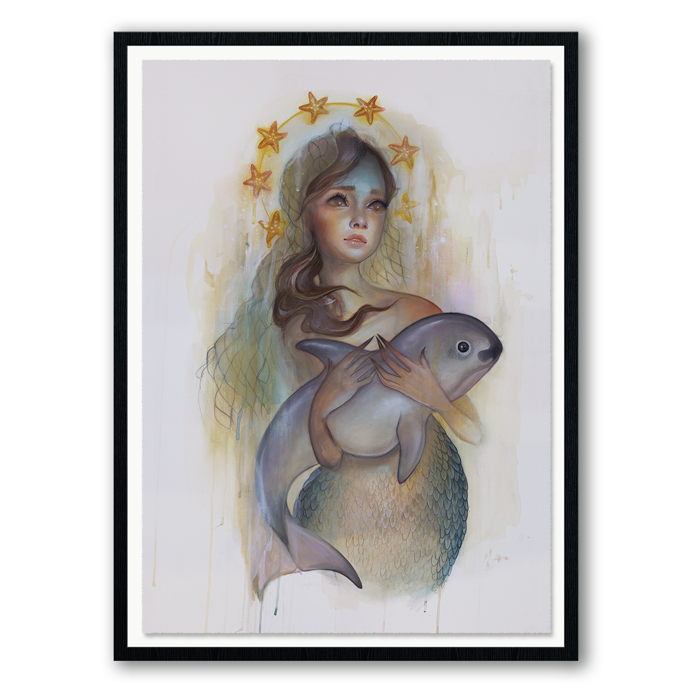 """Sagrada Vaquita"" by Tatiana Suarez.  18"" x 24"" Giclee.  Ed of 50 S/N.  $75"