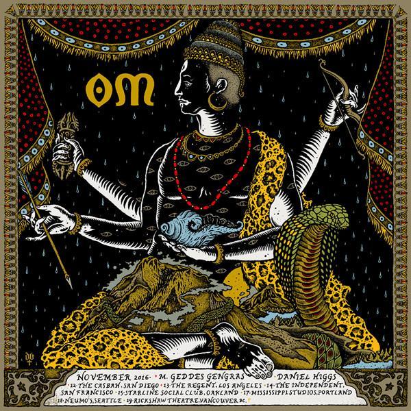 """Om - West Coast 2016 Tour"" by David D'Andrea"