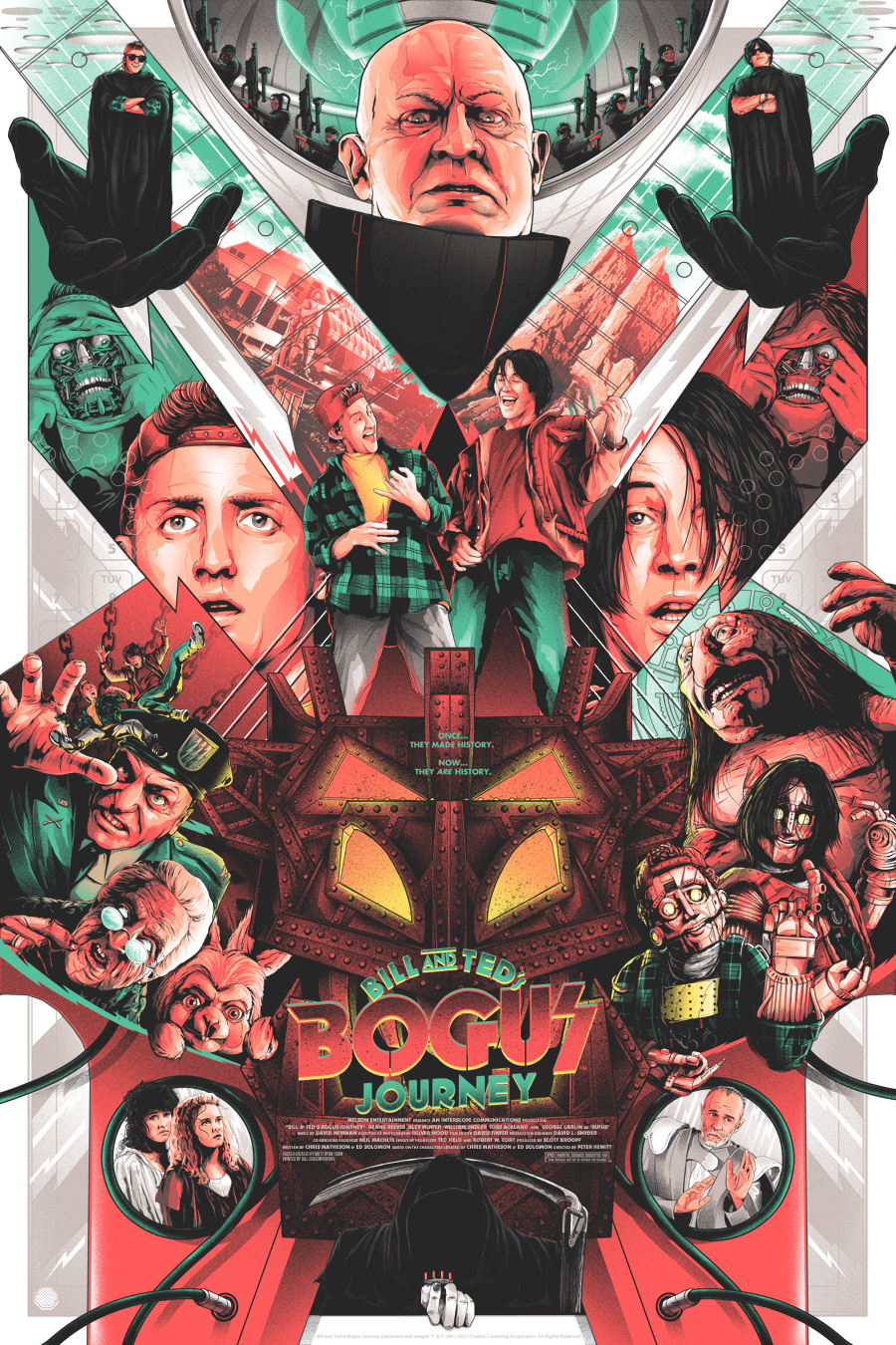 """Bill and Ted's Bogus Journey"" by Matt Ryan Tobin"