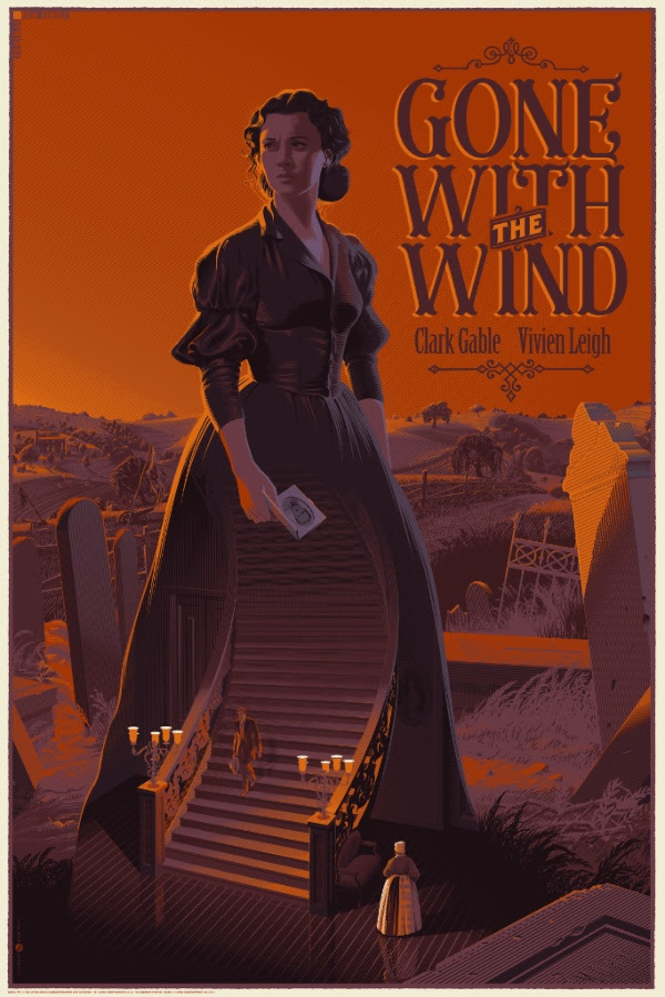 """Gone With The Wind"" by Laurent Durieux"