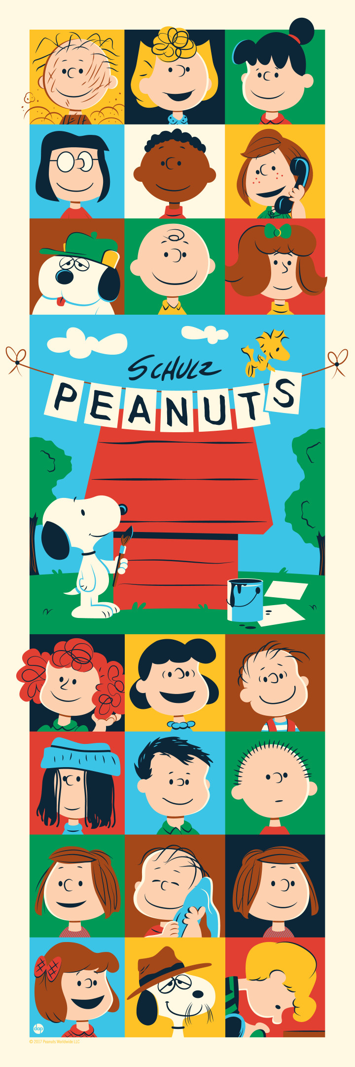 "d108708c6b ""Peanuts  Through the Years"" by Dave Perillo"