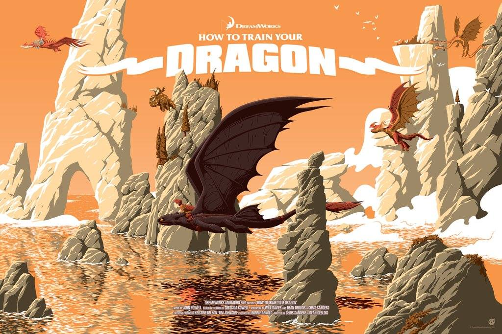 """How To Train Your Dragon"" by Florey v"