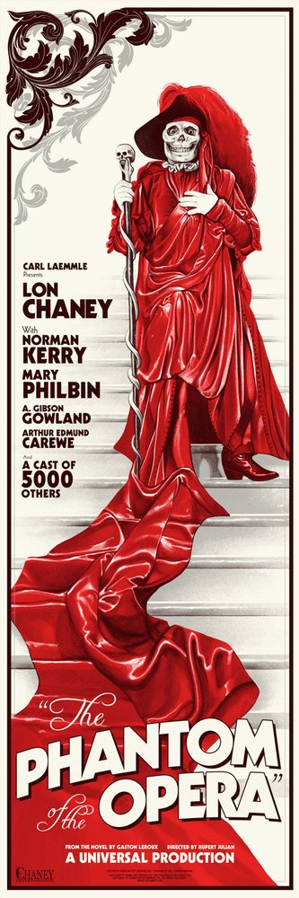 The Phantom Of Opera Movie Posters By City Creative