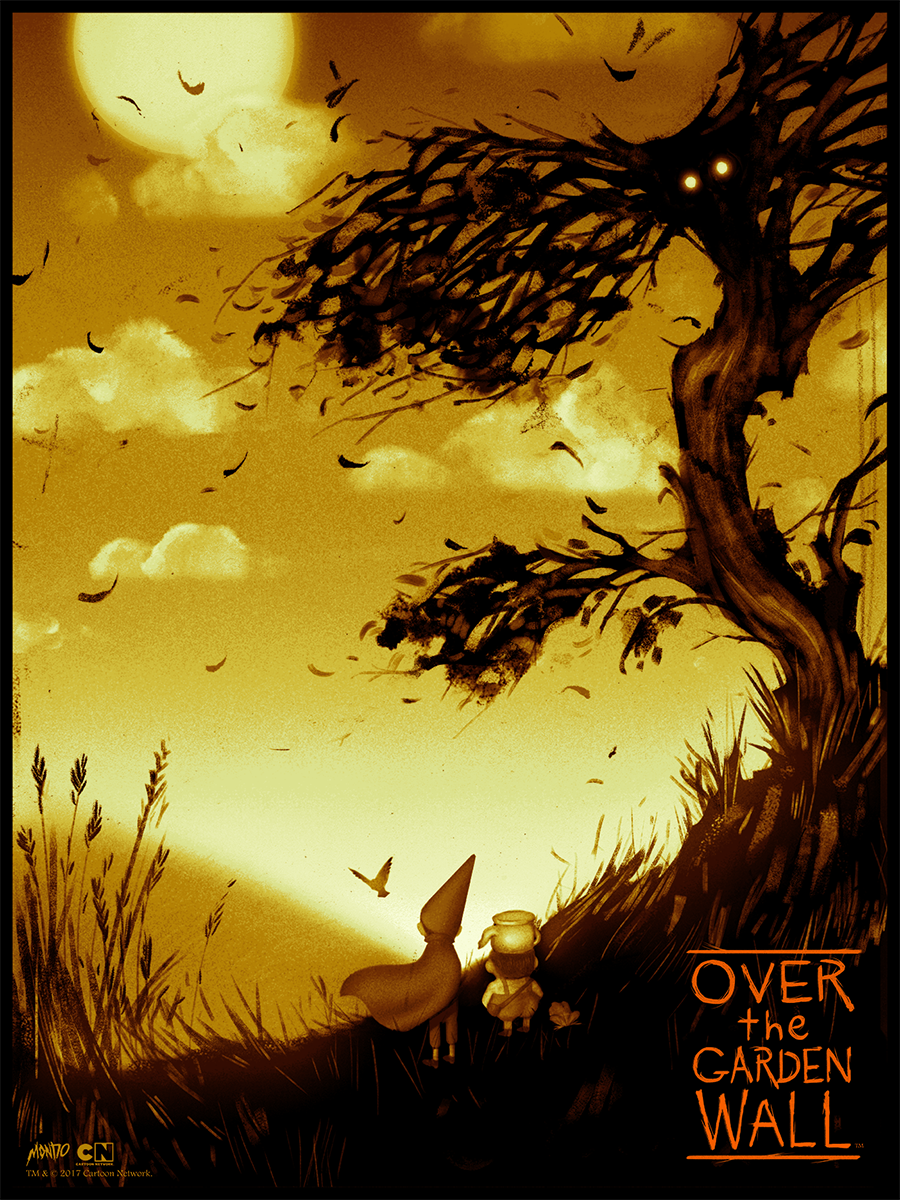 Over the Garden Wall movie posters from Mondo | 411posters