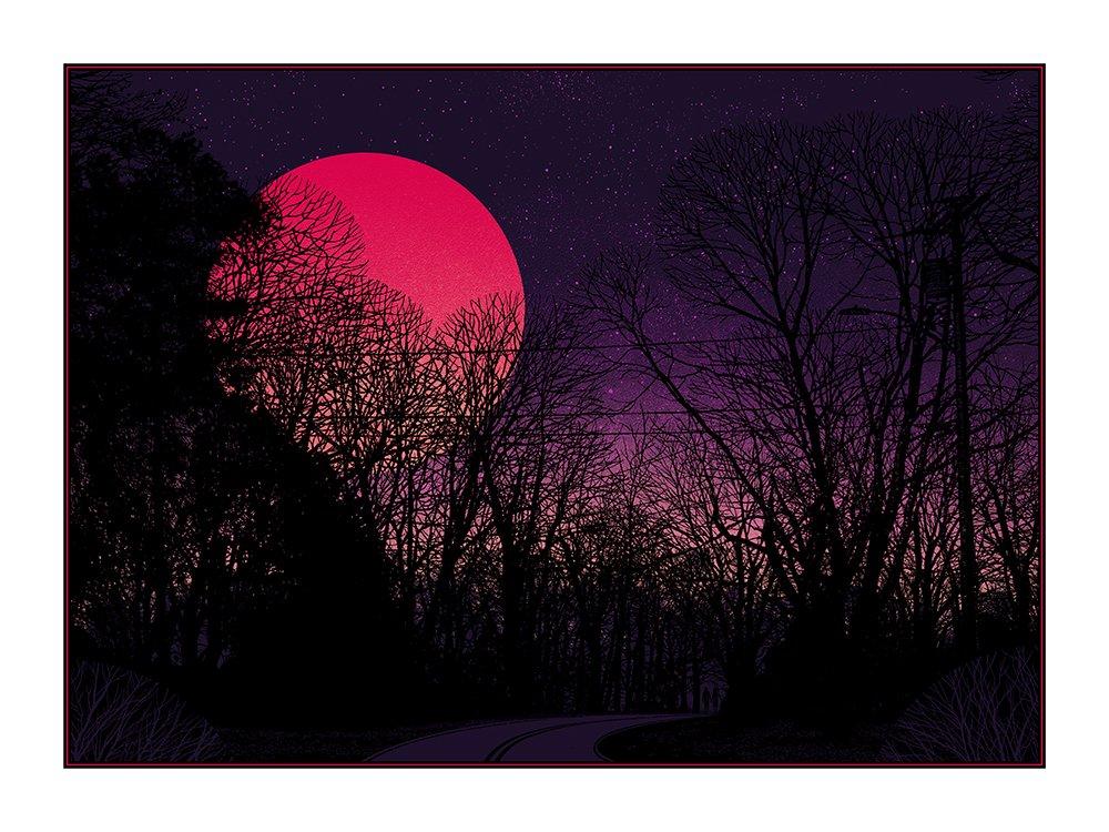 Super Blue Blood Moon By Dan Mccarthy